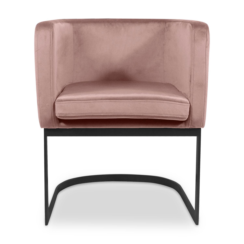 Stoel / Fauteuil Ilona Velvet Pink