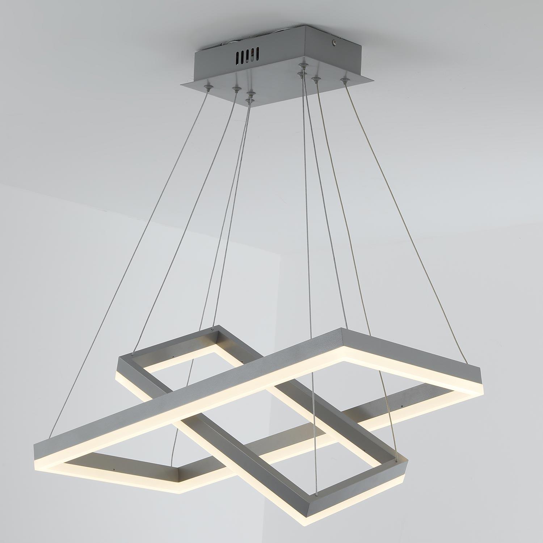 Solax LED hanglamp grijs metaal