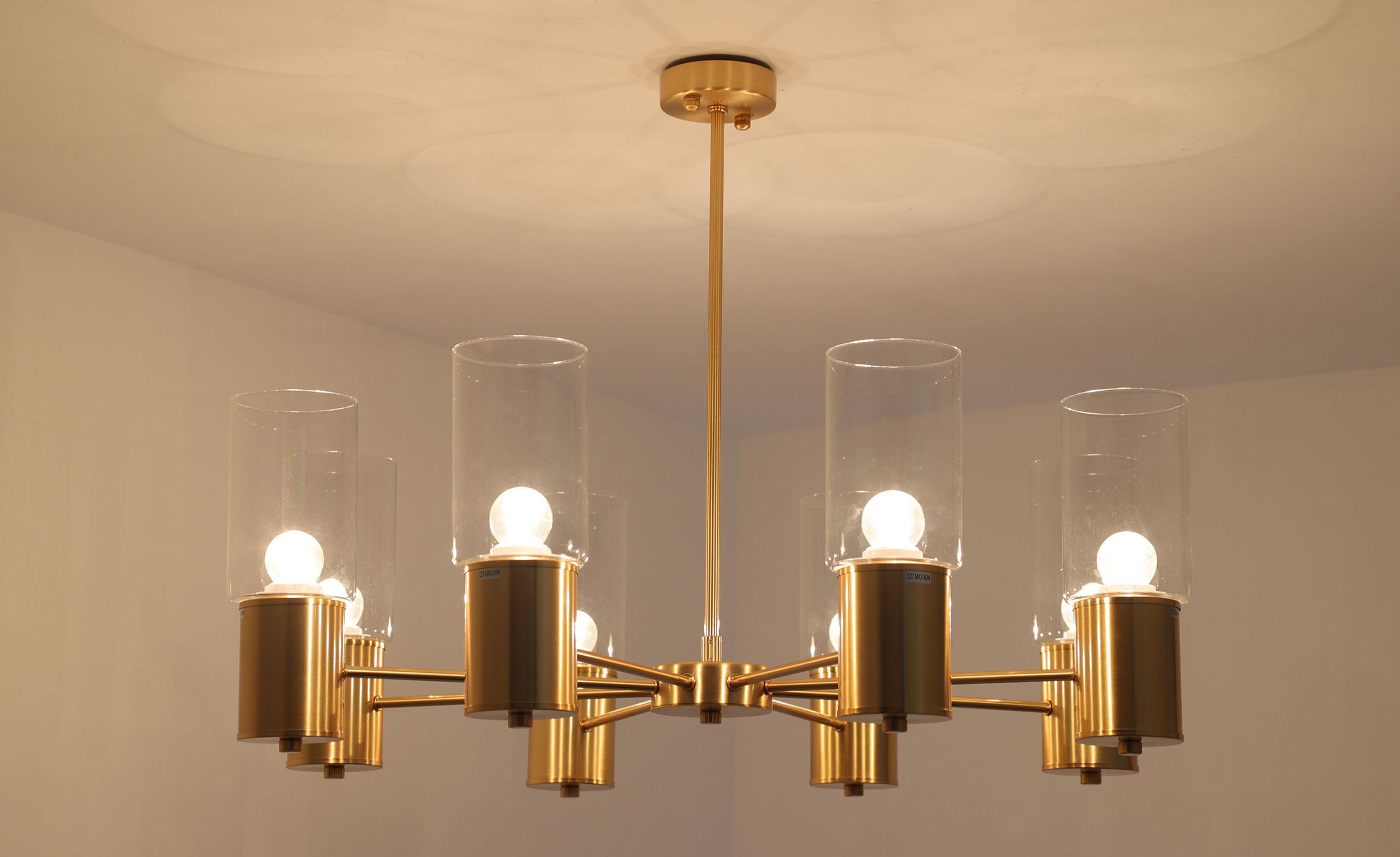 Olympische XL hanger van goudkleurig metaal