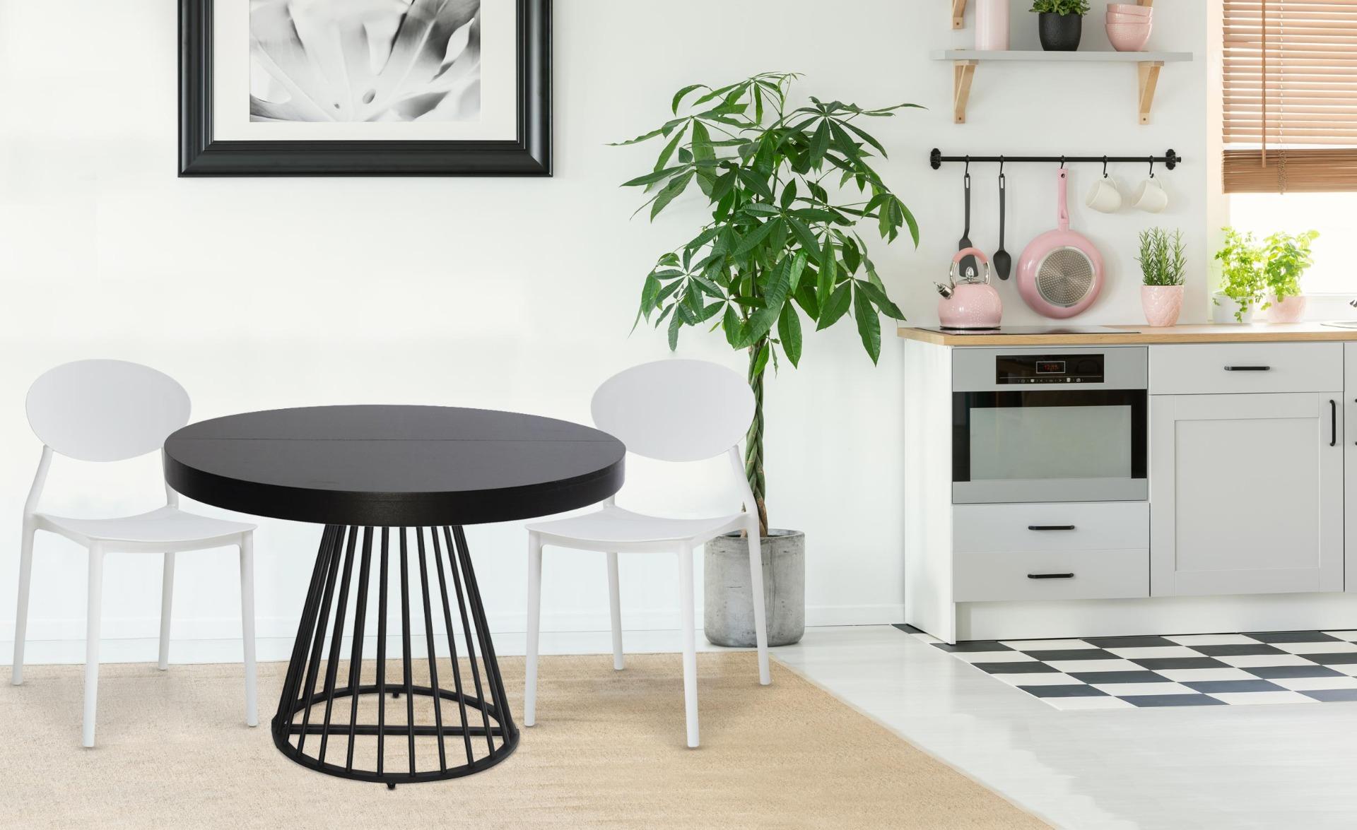 Set van 4 stapelbare stoelen Balagan Wit