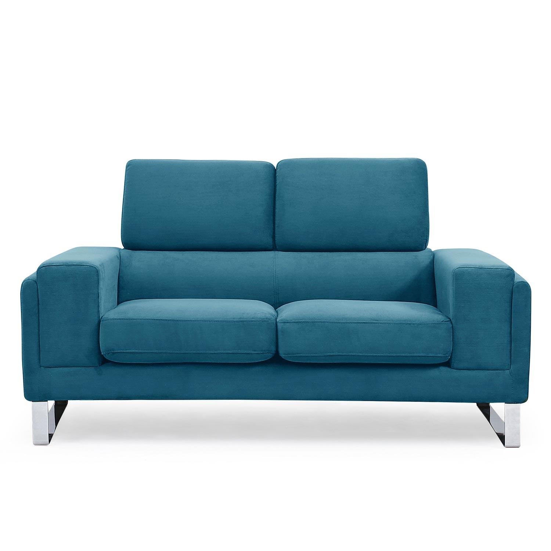Barth Corduroy 2-zitsbank blauw