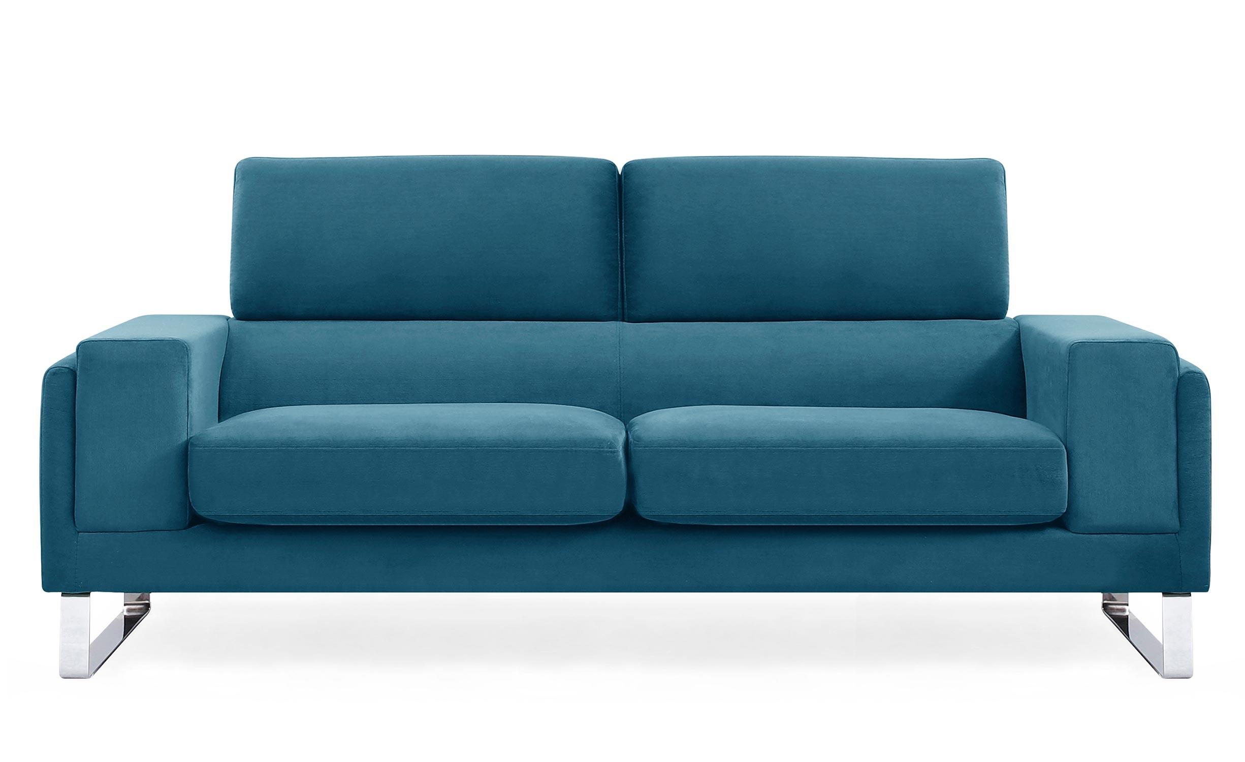 3-zitsbank Barth Corduroy blauw