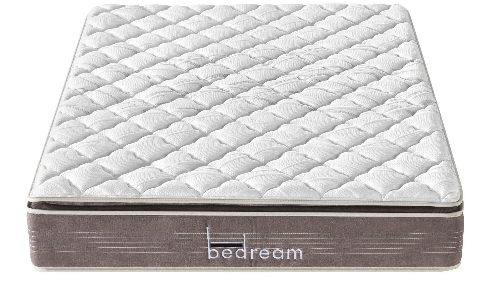 Matelas avec mini-ressorts ensachés et mémoire de forme Bedream Deluxe 140x190cm