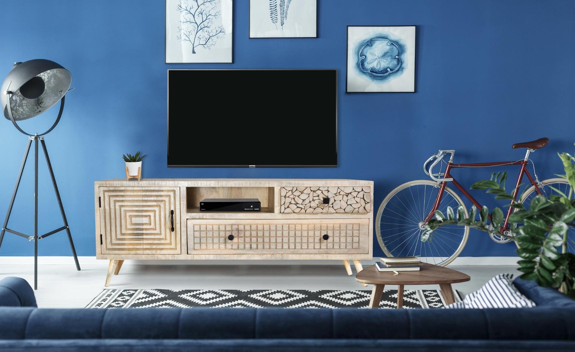 Corel tv-meubel van acaciahout