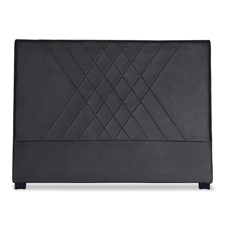 Tête de lit Diam 160cm Simili P.U. Noir