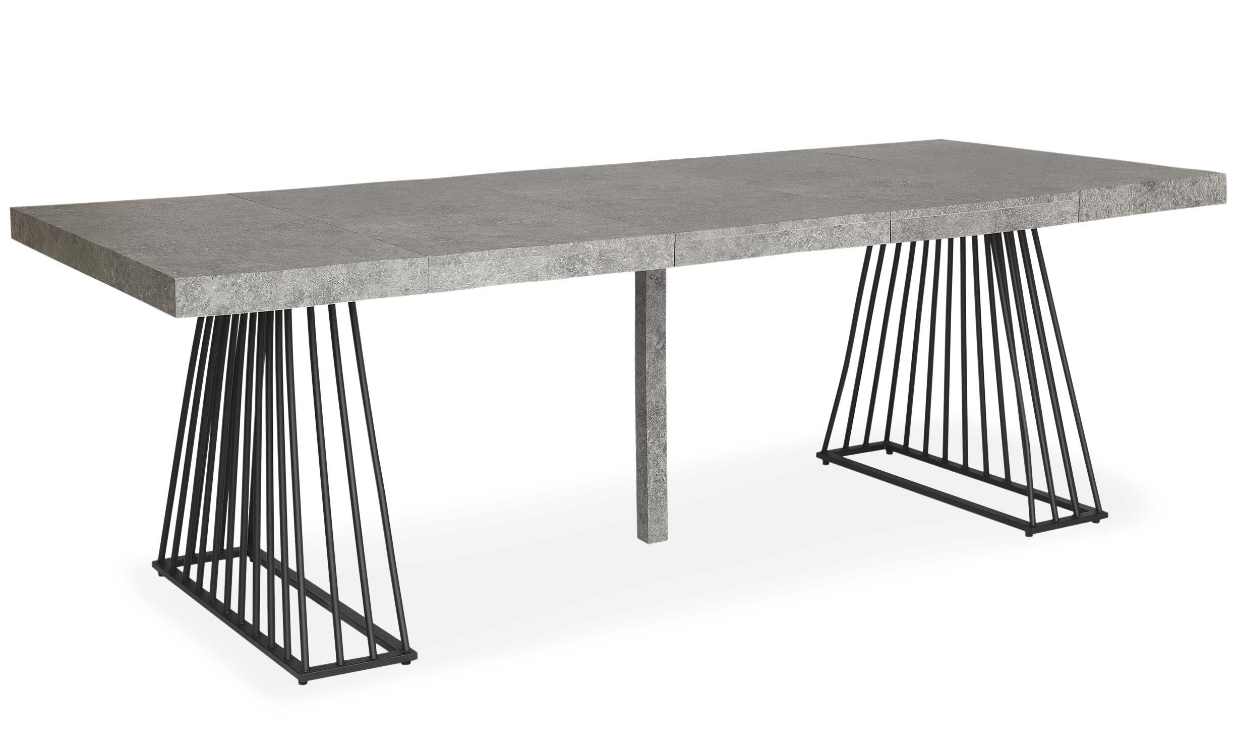 Fabriek uitschuifbare betonnen effecttafel