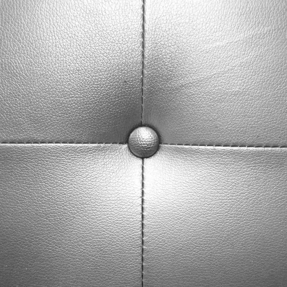 Luxor hoofdeinde 160 cm Zilver