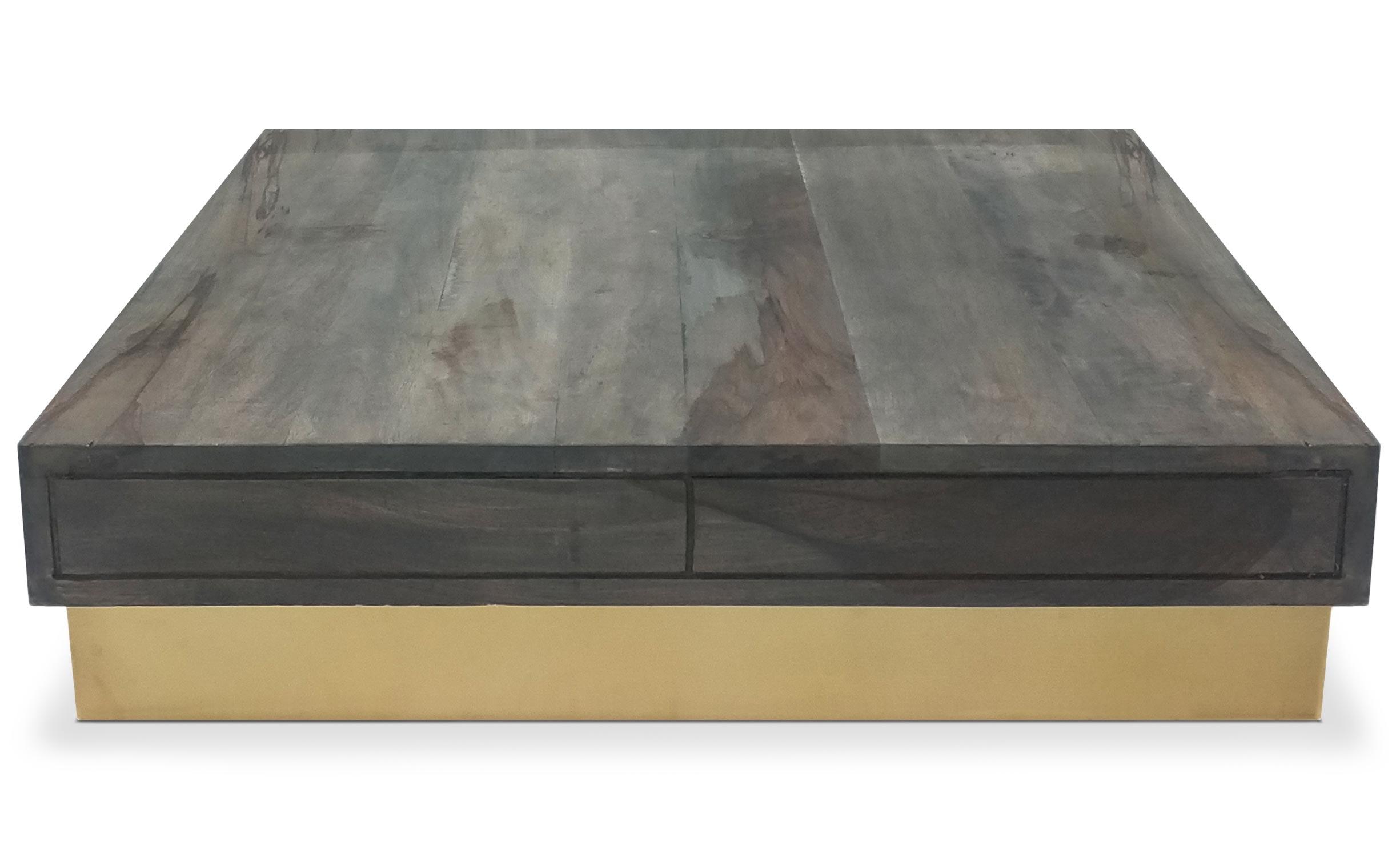 Kaliko houten salontafel