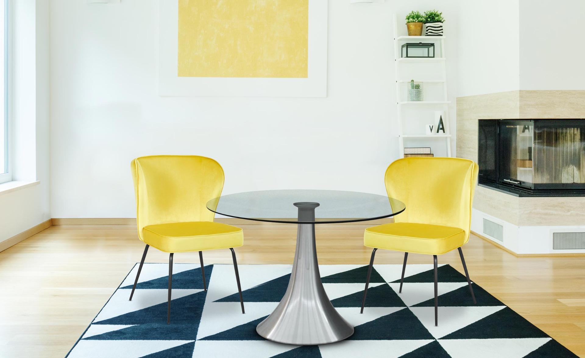 Inox ronde tafel