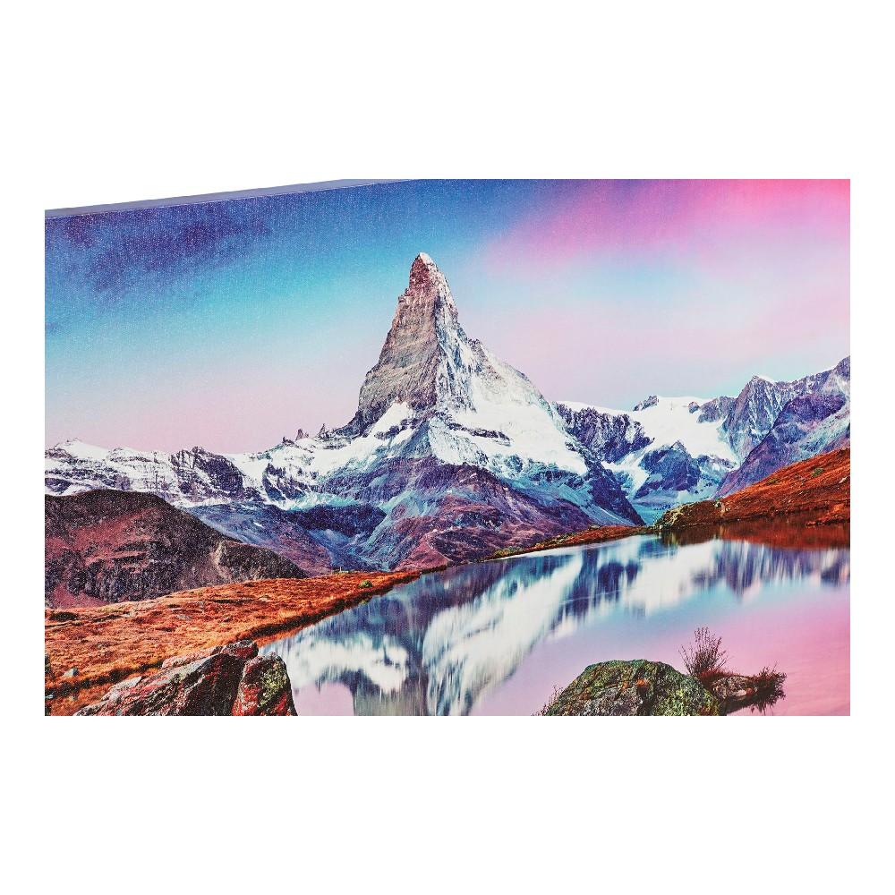 Schilderij DKD Home Decor Canvas Berg (3 pcs) (70 x 1.8 x 50 cm)