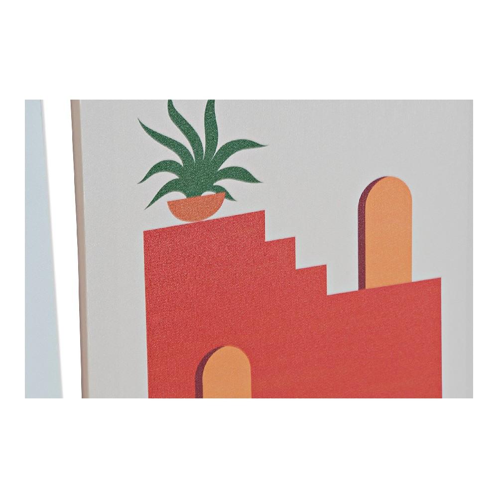 Lot de 3 toiles Sunset 30x40cm Style Géométrique Multicolore