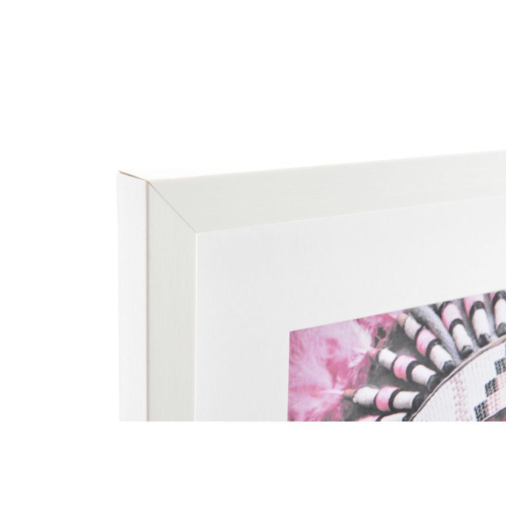 Acryl schilderij DKD Home Decor Boho Acryl polyestyreen (4 pcs) (35 x 2.5 x 45 cm)