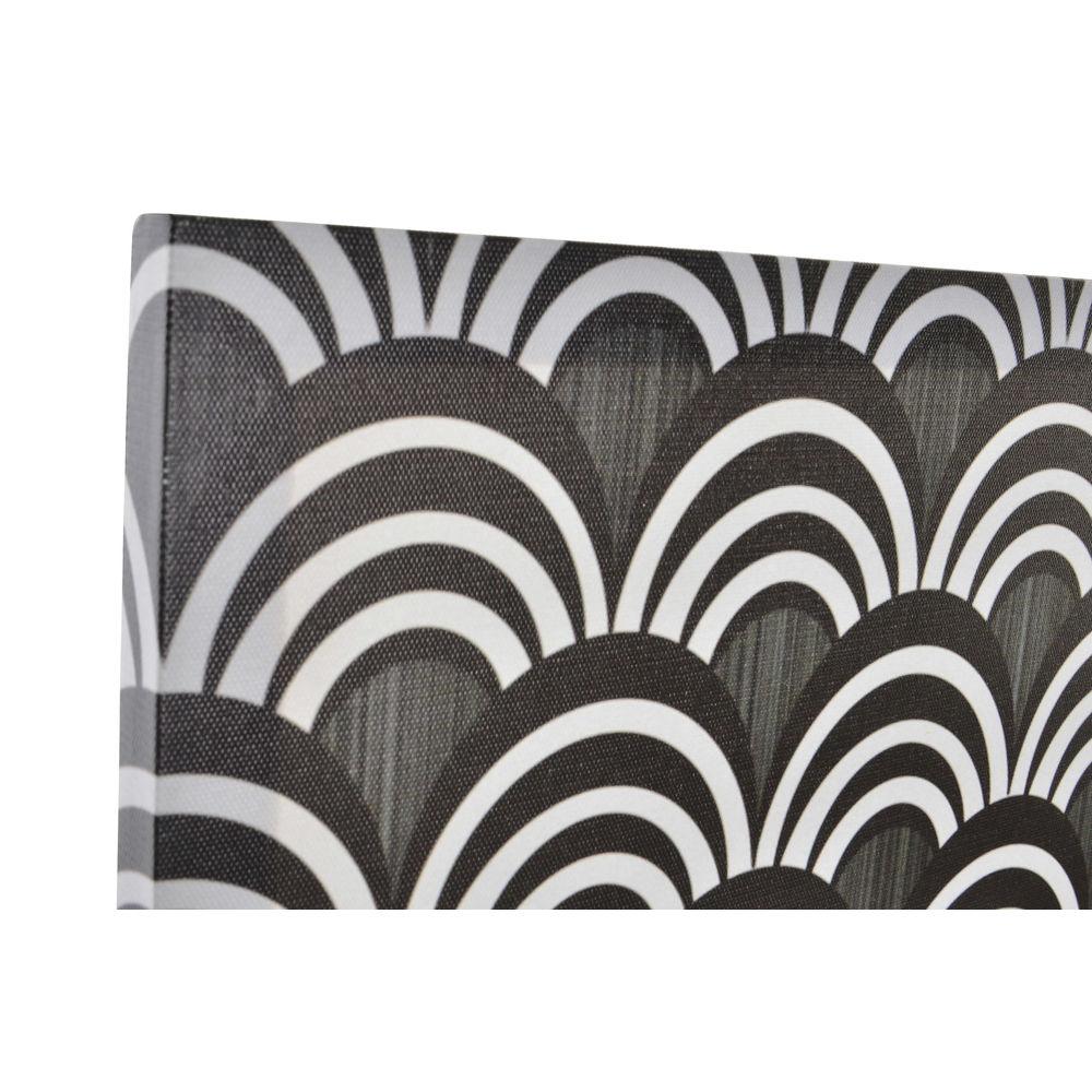 Schilderij DKD Home Decor Geometrisch Canvas (4 pcs) (40 x 1.7 x 40 cm)