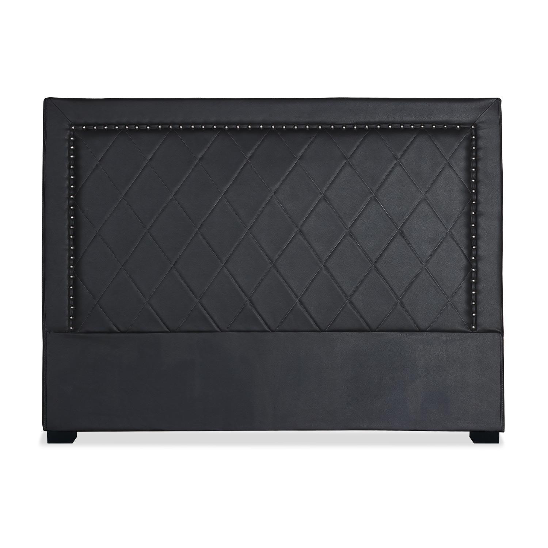 Tête de lit Meghan 160cm Simili P.U. Noir