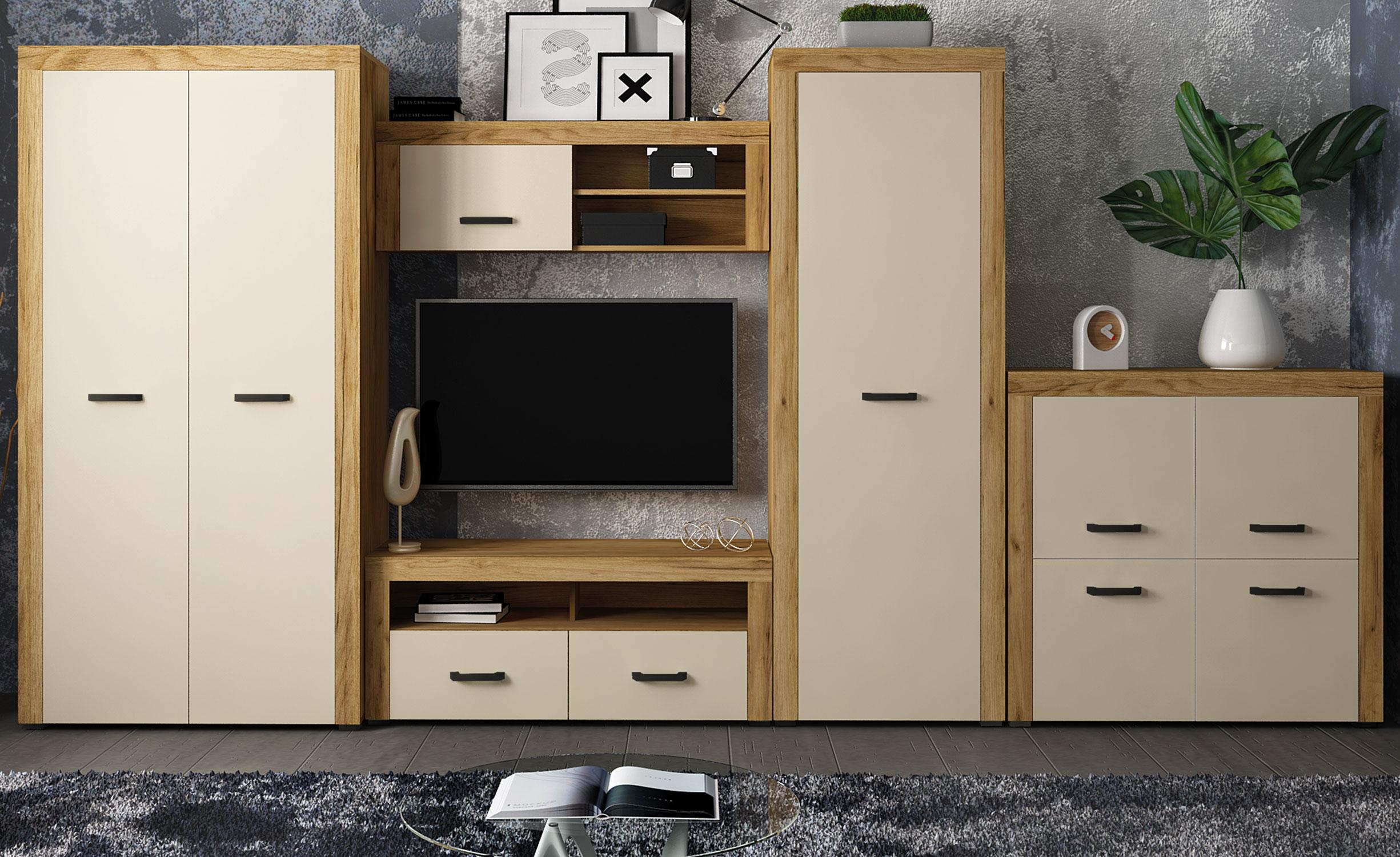 Denvera licht eiken tv-meubel