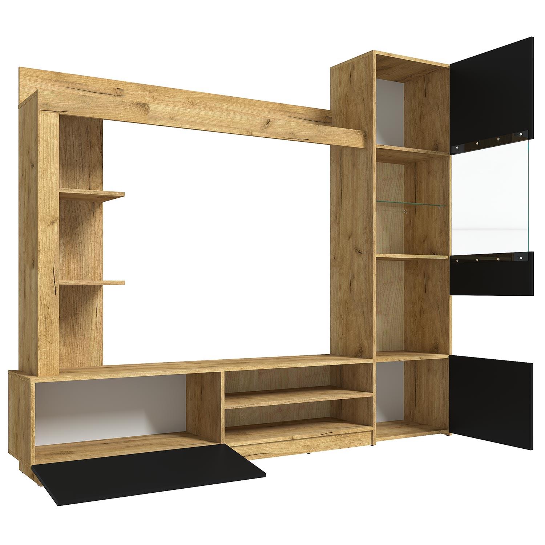 Jordison tv-kast zwart en hout