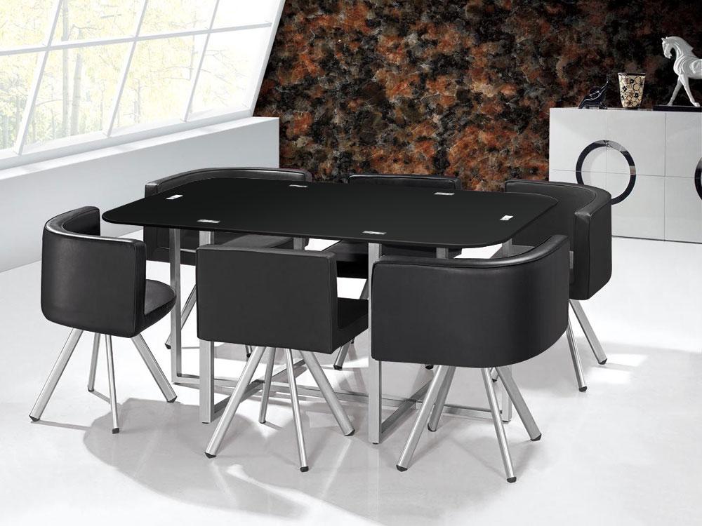 Mozaiektafel XL Zwart