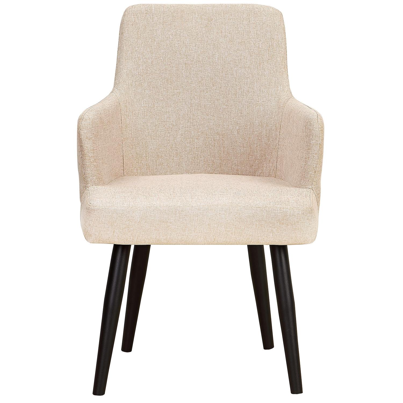 Set van 2 Neiva fauteuils in beige stof