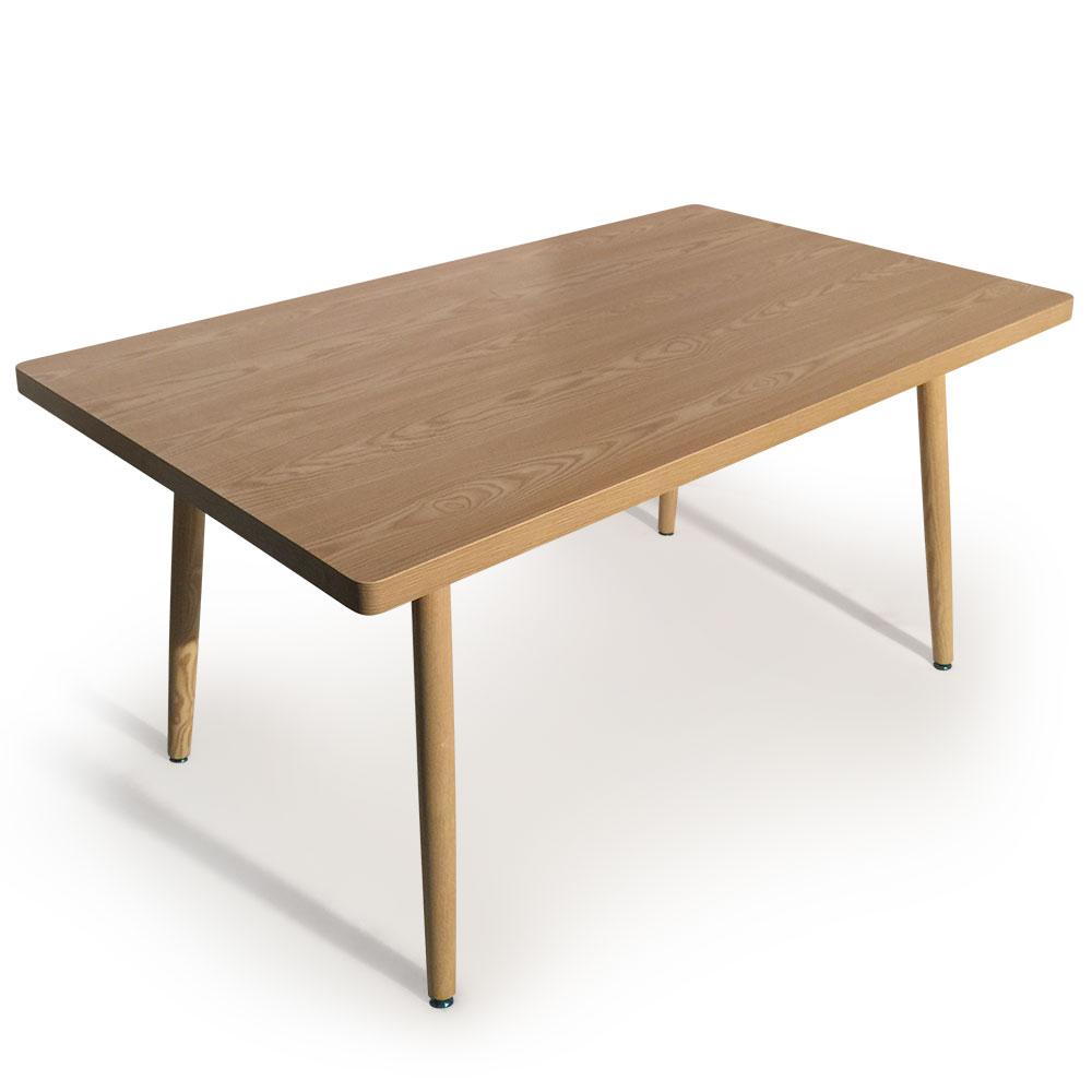 Scandinavische rechthoekige tafel Nora ASH