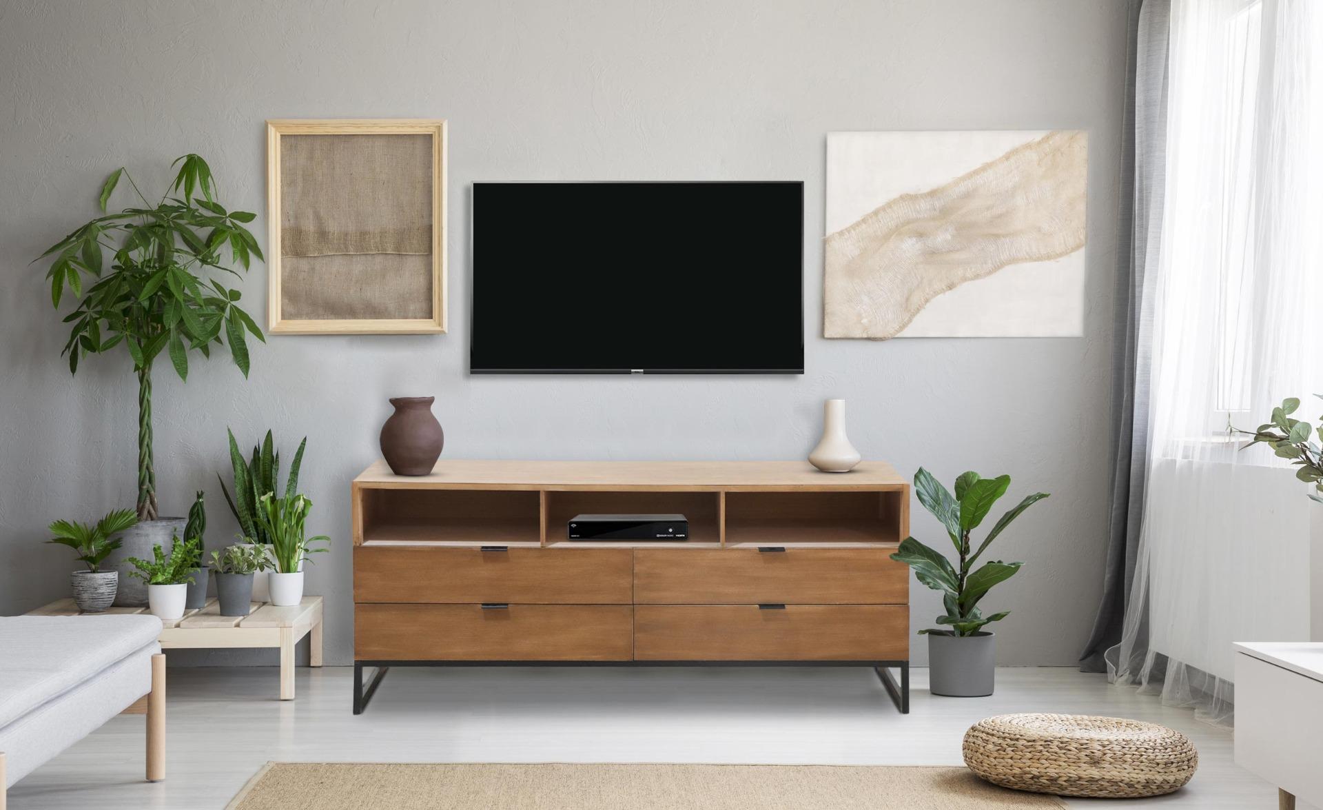 Panara tv-meubel licht eiken