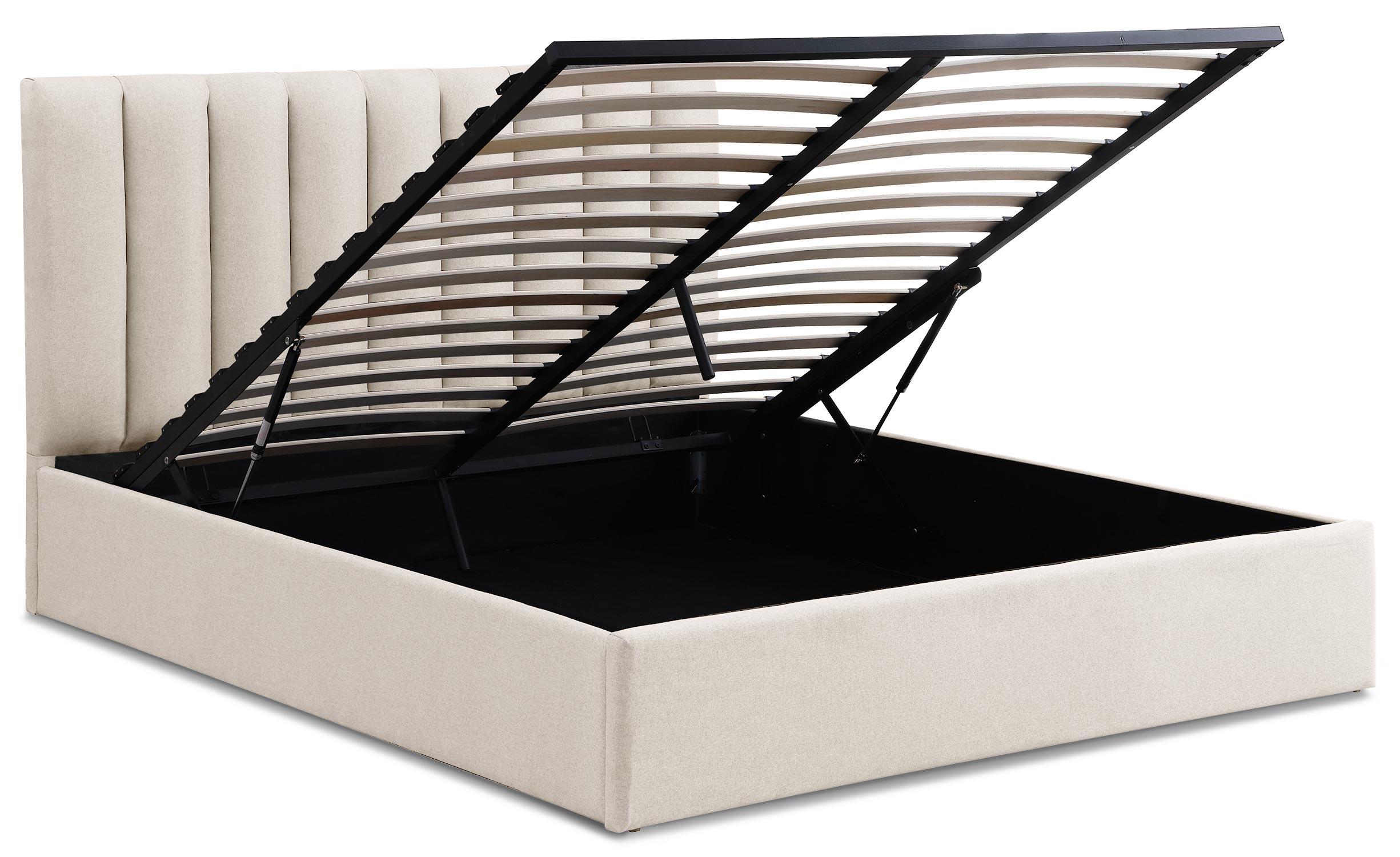 Songe Safe Bed + Beige Stoffen Doos 160cm