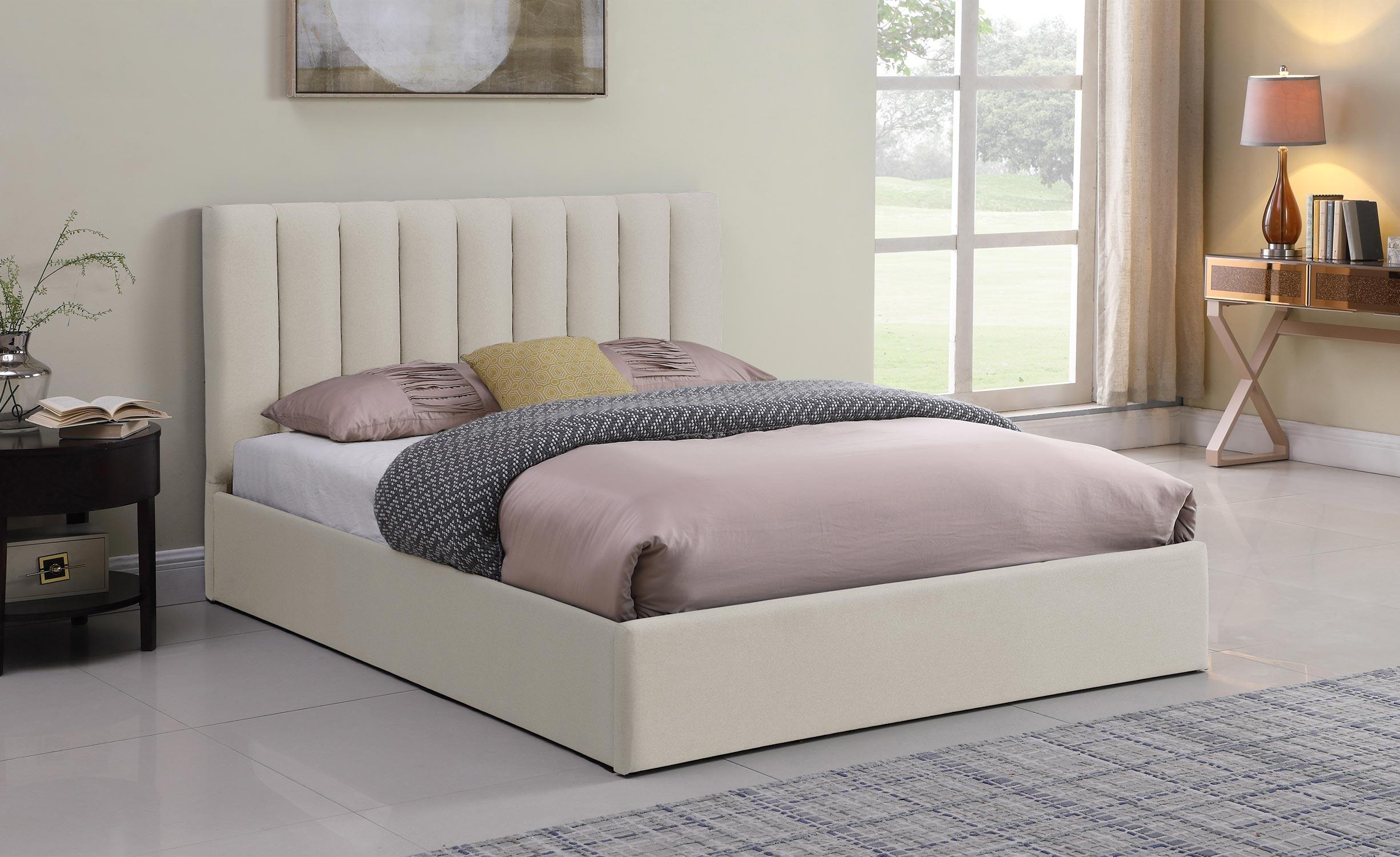 Songe Safe Bed + Beige Stoffen Doos 180cm