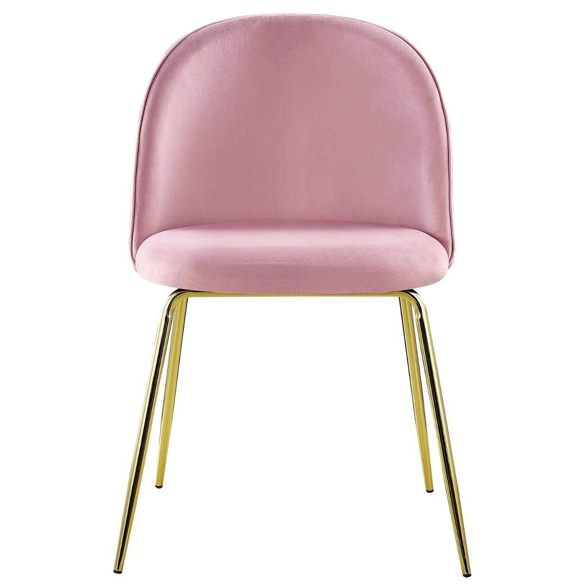 Set van 2 stoelen Spectra Velvet Roze