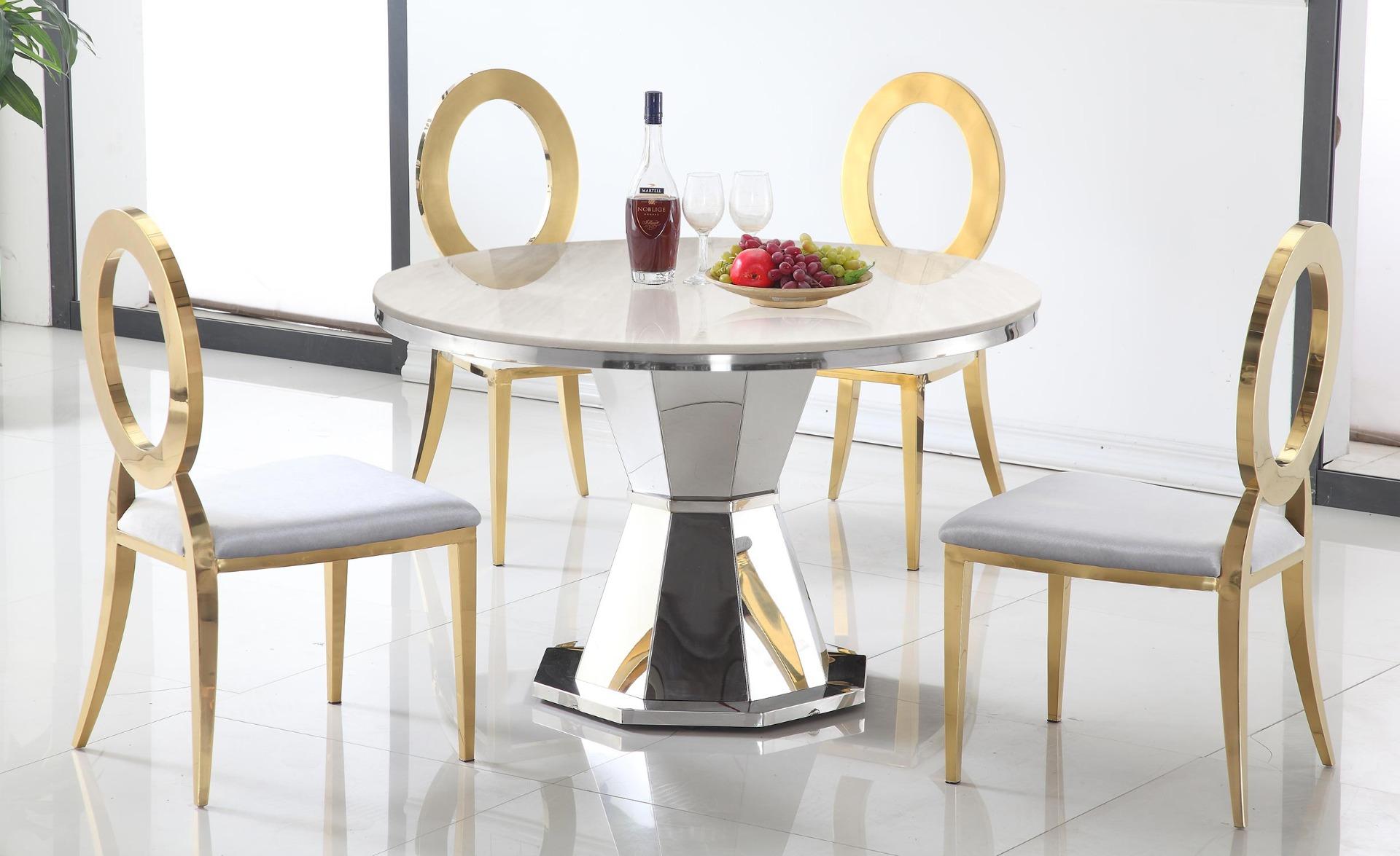 Ronde tafel Yvone Marmer